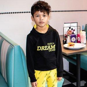 DUTCH DREAM DENIM jongens hoodie black kubwa