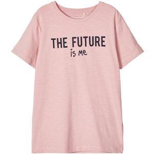 NAME IT meisjes t-shirt pink nectar