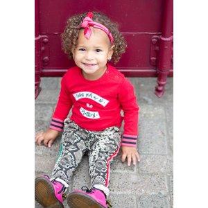 Quapi Quapi meisjes haarband lemonade pink lips brooke