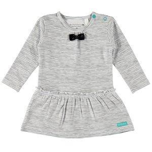 BAMPIDANO meisjes jurk black/white stripe