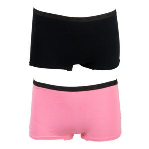 FUNDERWEAR meisjes 2-pack ondergoed sachet pink black