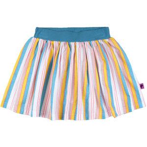 D-RAK meisjes rok multi color stripes