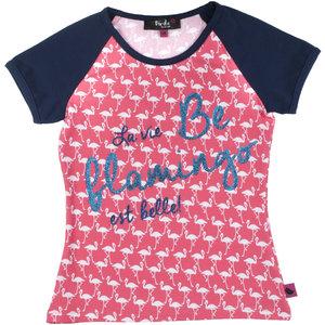D-RAK meisjes t-shirt flamingo aop