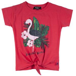 D-RAK meisjes t-shirt camelia rose