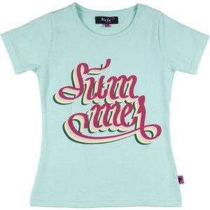 D-RAK meisjes t-shirt beach glass