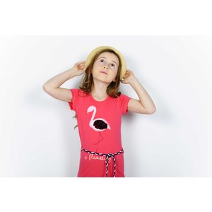 D-RAK meisjes jurk camelia rose