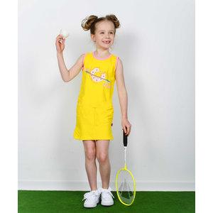 D-RAK meisjes jurk primrose yellow