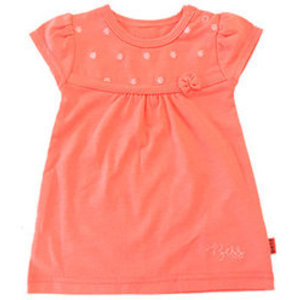 B.E.S.S. meisjes jurk coral embroidery