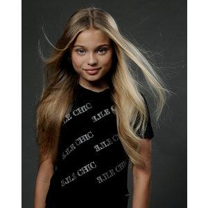 ELLE CHIC meisjes t-shirt elle chic black