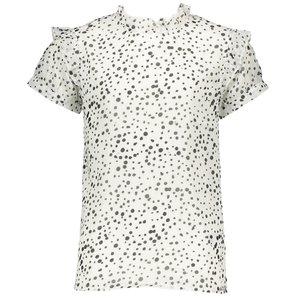 ELLE CHIC meisjes blouse white