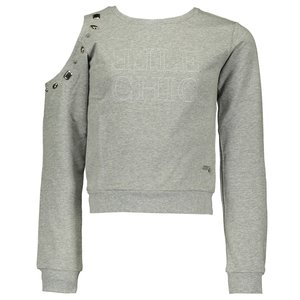 ELLE CHIC meisjes sweater grey melee