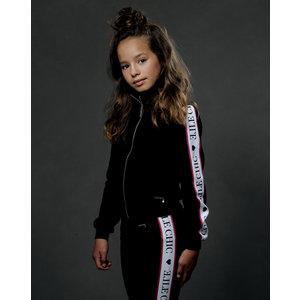 ELLE CHIC meisjes vest sporty black