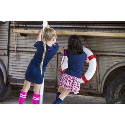B.NOSY B.NOSY meisjes jurk space blue