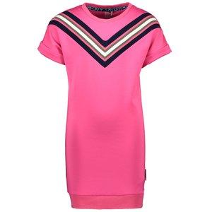 B.NOSY meisjes jurk pink glo