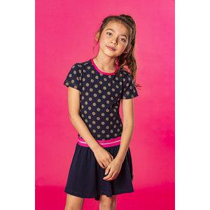 B.NOSY B.NOSY meisjes jurk mili dots