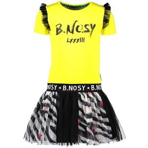 B.NOSY meisjes jurk lemon