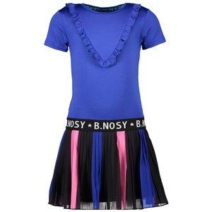 B.NOSY B.NOSY meisjes jurk princess blue