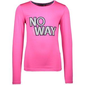 B.NOSY meisjes longsleeve pink glo