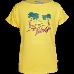 Someone meisjes t-shirt yellow paradise