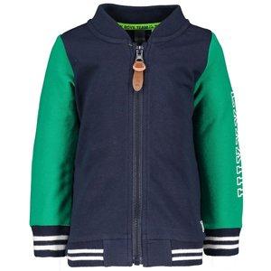 B.NOSY jongens vest oxford blue