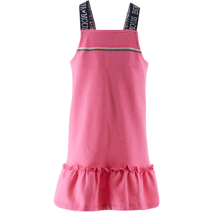 BORN TO BE FAMOUS meisjes jurk neon pink