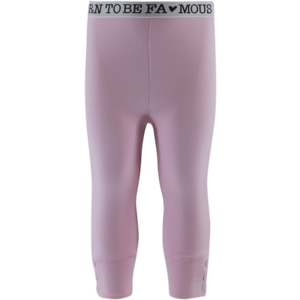 BORN TO BE FAMOUS meisjes legging soft pink