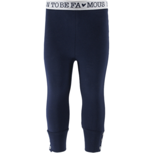 BORN TO BE FAMOUS meisjes legging navy