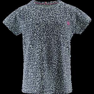 BORN TO BE FAMOUS meisjes t-shirt mint ao leopard