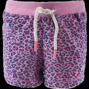 BORN TO BE FAMOUS meisjes korte broek pink ao leopard