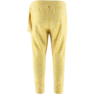 BORN TO BE FAMOUS meisjes joggingbroek yellow ao leopard