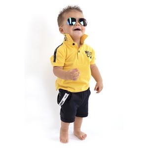 BORN TO BE FAMOUS jongens polo banana