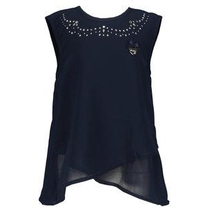 LE CHIC meisjes blouse blue navy