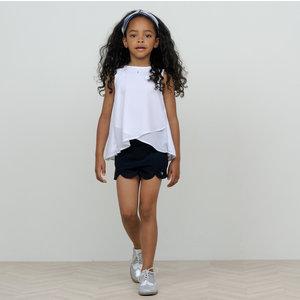 LE CHIC meisjes blouse white