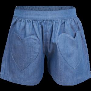 MINI REBELS meisjes korte broek blue jeany