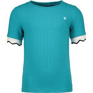 LIKE FLO meisjes t-shirt turquoise