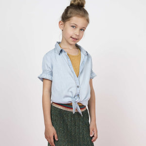 LIKE FLO meisjes blouse l.denim