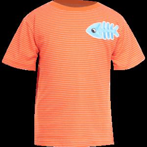 MINI REBELS jongens t-shirt orange nautical