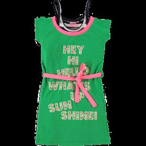 O'Chill meisjes jurk green skylar