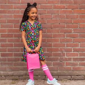 O'Chill meisjes jurk multi color miranda