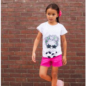 O'Chill meisjes t-shirt white  yvette