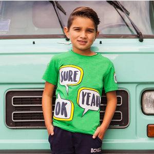 B'chill jongens t-shirt green antonius