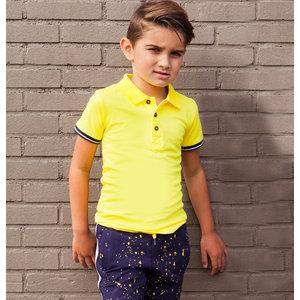 B'chill jongens polo yellow jasper