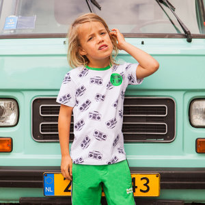 B'chill jongens t-shirt multi color gio