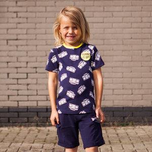 B'chill jongens t-shirt navy gerrit