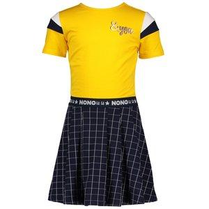 Nono meisjes jurk navy blazer malika