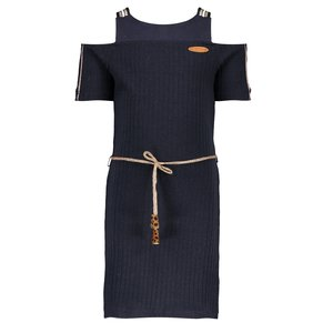 Nono meisjes jurk navy blazer maron