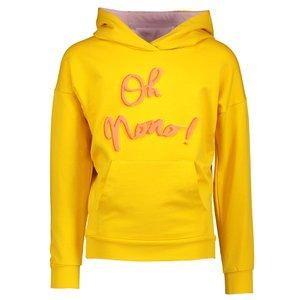 Nono meisjes trui warm yellow kissy