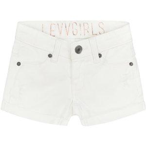 LEVV meisjes korte broek white