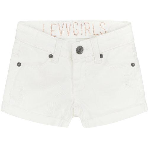 LEVV LEVV meisjes korte broek white