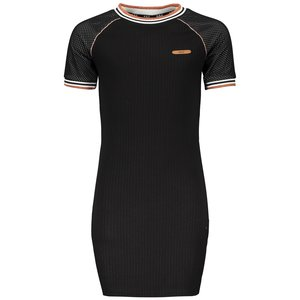 NOBELL meisjes jurk jet black maura